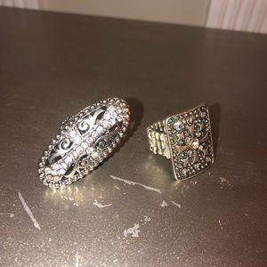Jewelry - Cross rings
